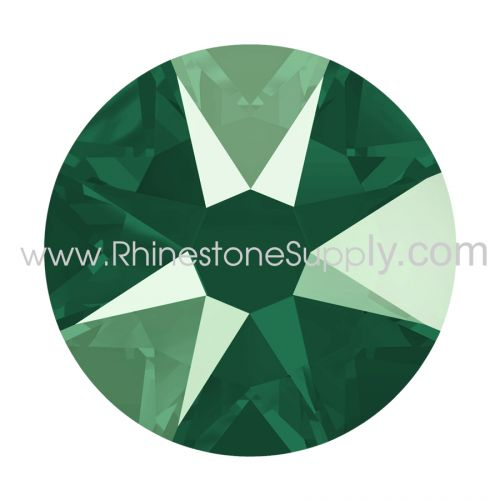 ROYAL GREEN LACQUER Rhinestones