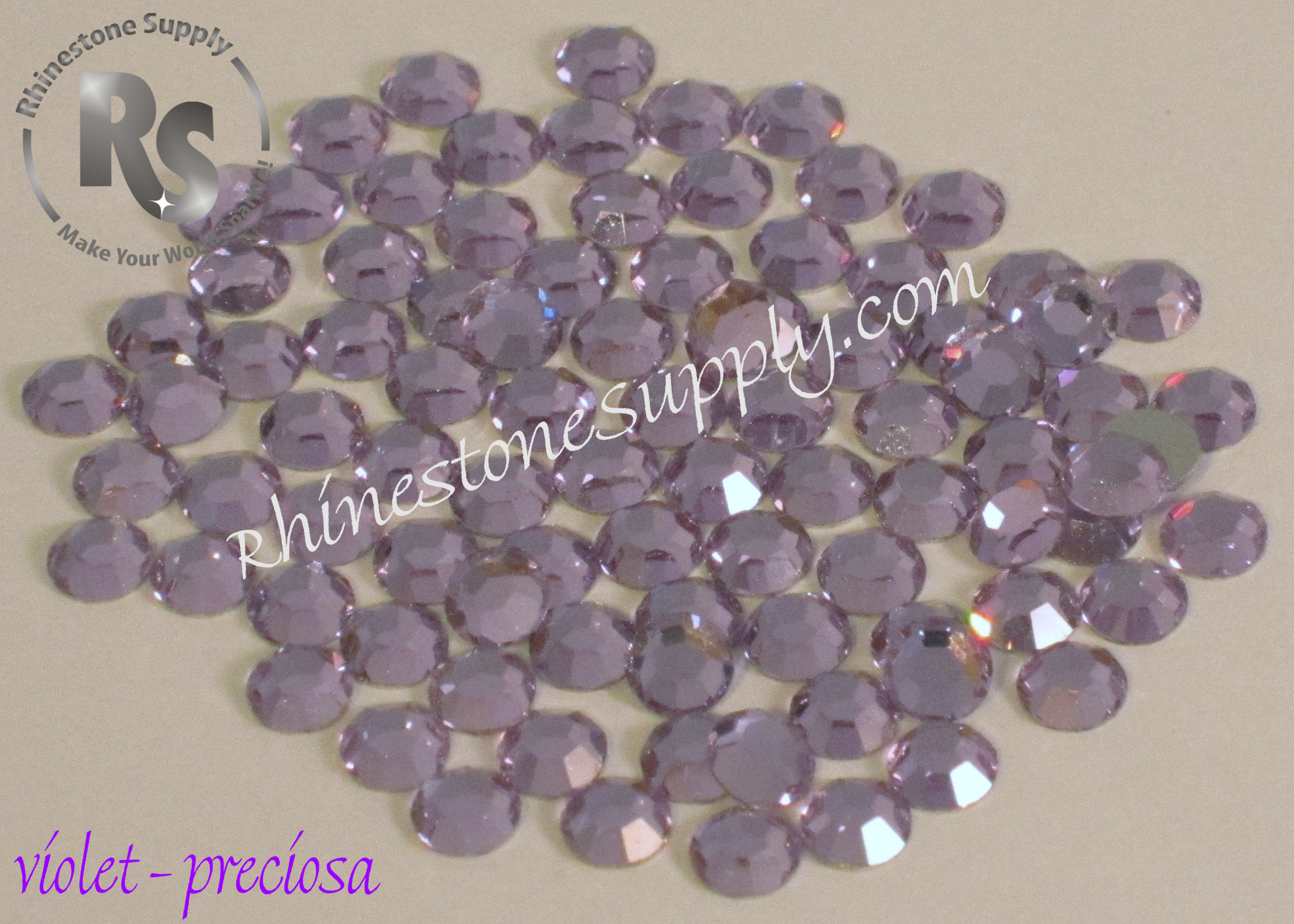 VIOLET - HOT FIX - Preciosa Rhinestones