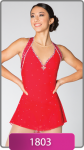 Brad Griffies Skating Dress 1803 RED Adult LARGE