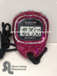 Stopwatch by Accusplit with RUBY Rhinestones