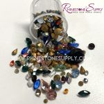 Swarovski MINI EXPLOSION CHATON (Point back) Crystal Mix