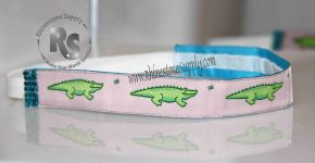 Alligator Pink Sport Stretch Headband