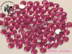 12ss FUCHSIA - HOT FIX Rhinestones